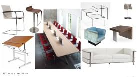 Art Dept and Reception furniture