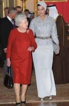 The Queen, Sheikha Mozah bint Nasser Al-Missned