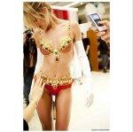 The Fantasy Bra worn by Angel Candice