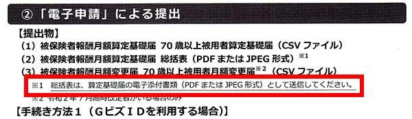 算定基礎届(総括表)はPDFかJPEG形式で