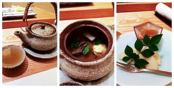 Omakase at Miyu - Seasonal Appetisers