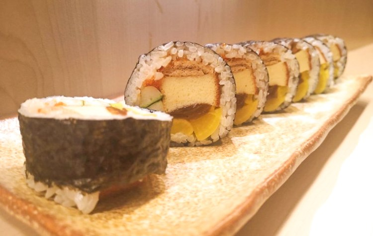Miyu Restaurant Lunch Menu Futomaki