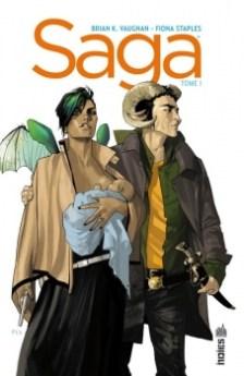 Saga, tome 1 / Brian K. Vaughan et Fiona Staples. - Urban Comics (Indies), 2013
