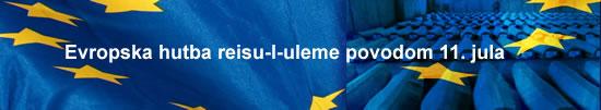 Evropska hutba reisu-l-uleme na sedam jezika povodom 11. jula