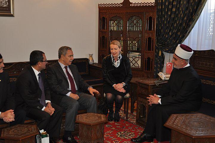 Zamjenik premijera Vlade Republike Turske posjetio reisu-l-ulemu