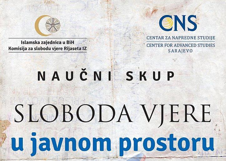 """Sarajevo: Naučni skup """"Sloboda vjere u javnom prostoru"""""""