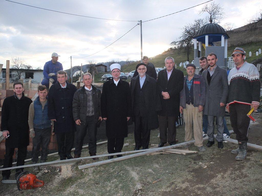 Počela izgradnja nove džamije u Cerskoj