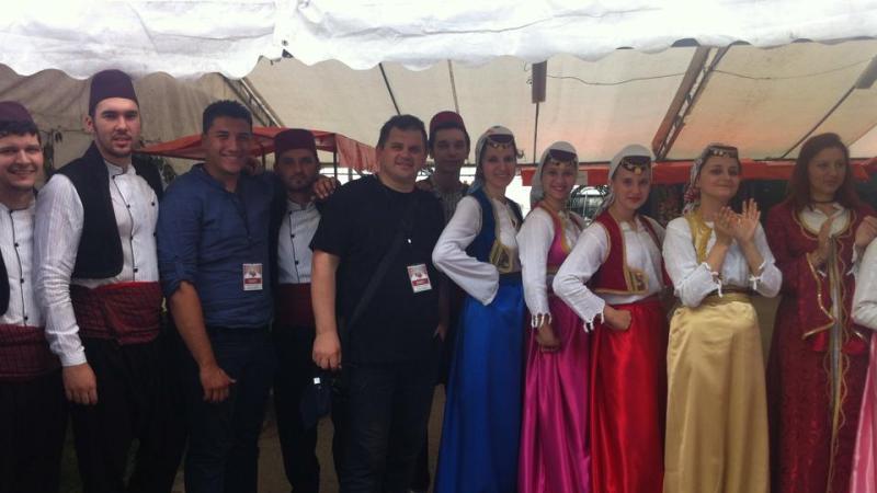 """Treća internacionalna smotra folklora """"Kolo na Bubanu"""", Šatorovići, Brčko Distrikt BiH, 23.05.2015."""