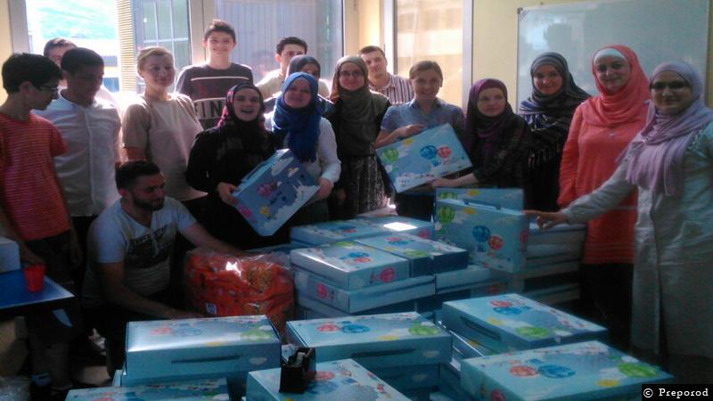 Za djecu povratničkih džemata 2000 bajramskih paketića