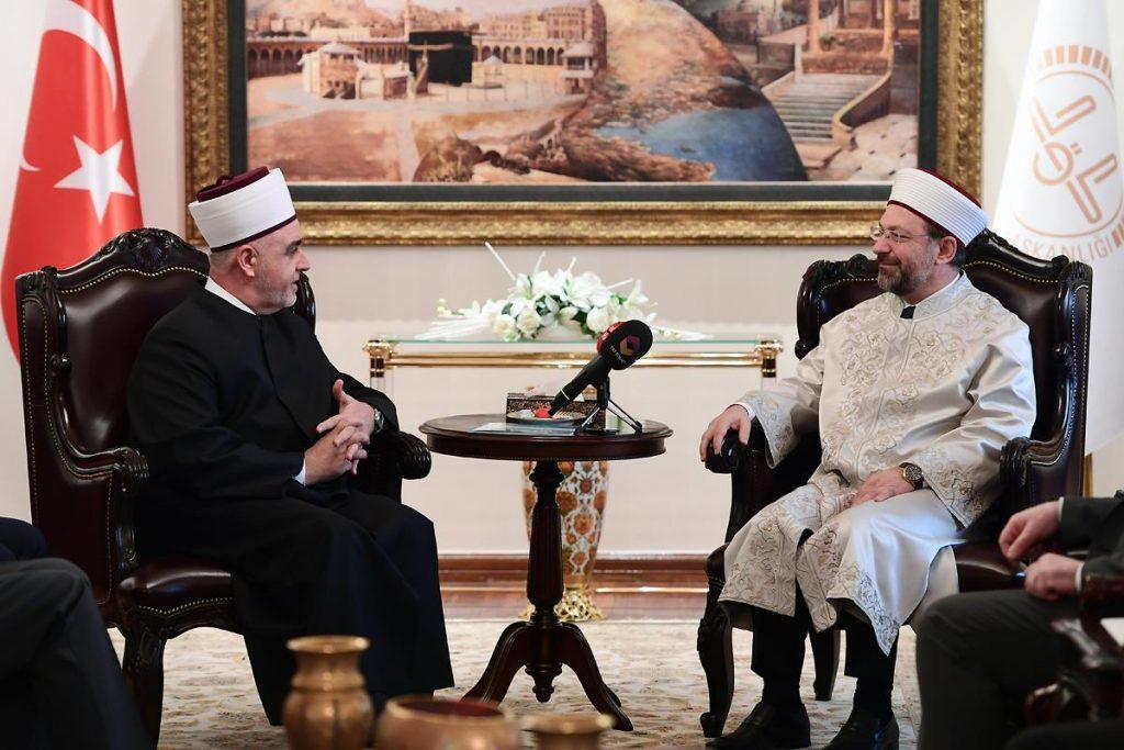 Reisu-l-ulema se sastao sa predsjednikom Diyaneta