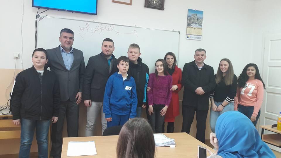 """Općinsko takmičenje iz Islamske vjeronauke održalo se proteklog vikenda u Osnovnoj školi """"Meša Selimović"""" u Janji."""