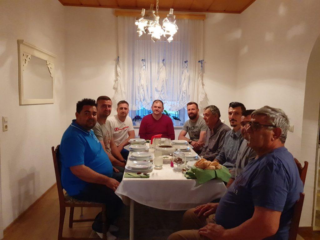 Iftar kod Nihada Suljića u Beču
