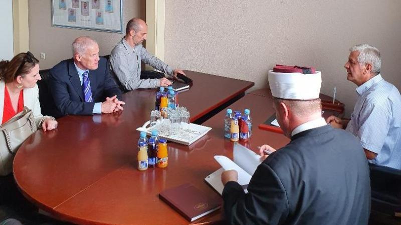 Majkl Skenlan (Michael Scanlan), prvi zamjenik visokog predstavnika u BiH, posjetio MIZ Bijeljina