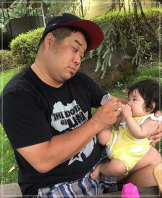 プラスマイナス岩橋良昌と嫁・結花の娘の顔画像がかわいい!