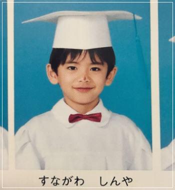 東大王の正規メンバーとなった3年間浪人していた東大生の砂川信哉の幼稚園の卒園アルバムの写真画像
