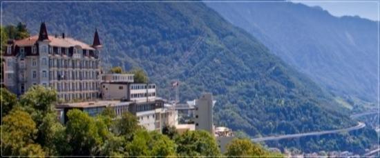 スイスのグリオン大学の外観の画像