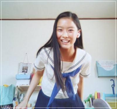 菅谷友希がかわいい!制服画像