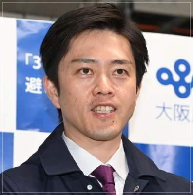 イケメンと人気の吉村洋文大阪府知事の顔画像
