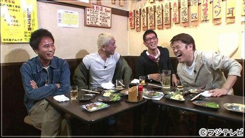 過去の女性問題が原因で謹慎休業をしていたアンタッチャブル柴田英嗣がハシゴ酒に出演してダウンタウンと坂上忍と共演している動画