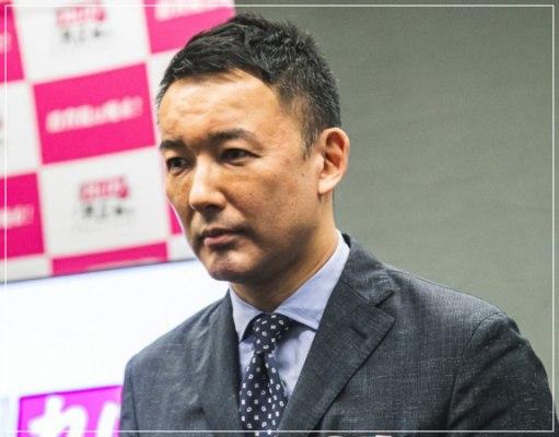 東京都知事選2020に出馬表明した山本太郎の画像