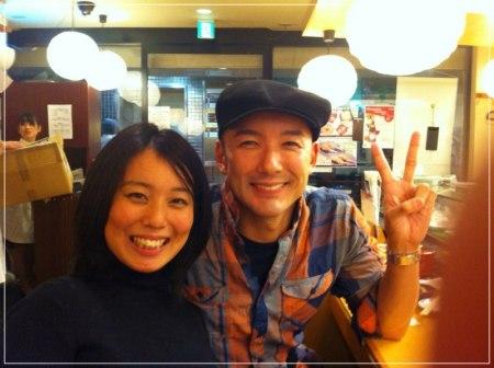山本太郎議員と元嫁・割鞘朱璃の2ショット画像