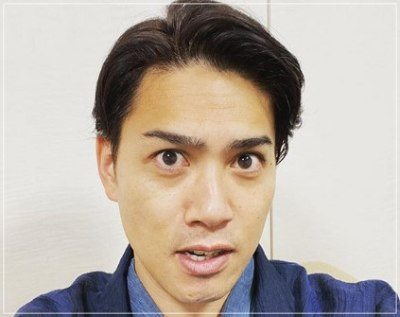 元暴走族総長の落語家瀧川鯉斗のインスタ顔画像