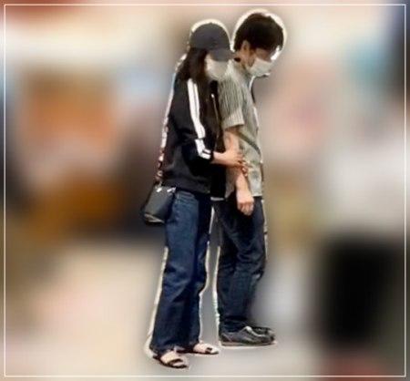こじるりこと小島瑠璃子と彼氏の原泰久のデート現場フライデー画像