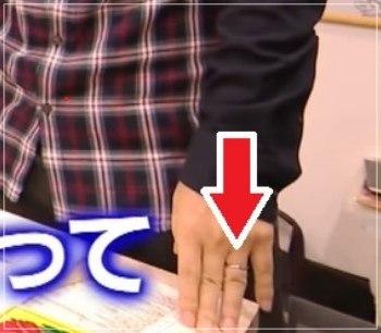 2019年1月には結婚指輪をしている原泰久の画像