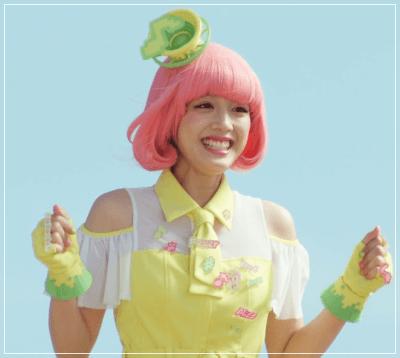 仮面ライダーに出演した松田るかの画像