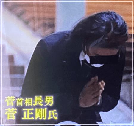 菅義偉首相の長男・菅正剛の顔画像
