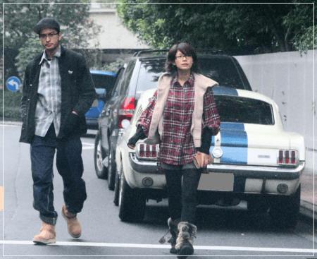 相武紗季と元彼氏の長瀬智也の2ショットフライデー画像