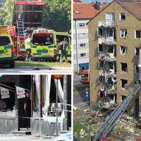 Wielki wybuch w Szwecji