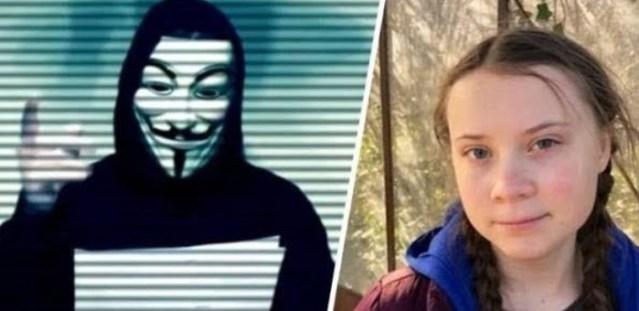 Anonymous ostrzegają Gretę