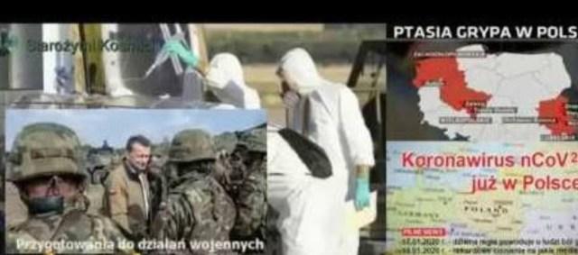 Na rozkaz WHO mobilizowano wojsko i służby w Polsce. Wojsko: zanim spadną bomby, to zaatakuje wirus!