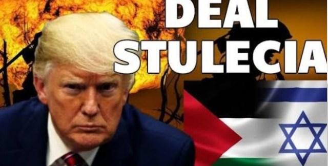 TRUMP sprzedał Izraelowi PALESTYNĘ