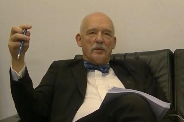 HANDEL DZIEĆMI- Korwin Mikke  spotkanie