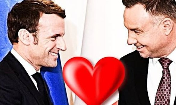 Emmanuel Macron się zakochał