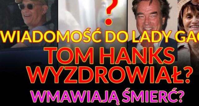 SZYBKI NEWS! Tom Hanks, Puste tła na twiterze, Kobieta z Anglii, śmierć John'a Callahan'a