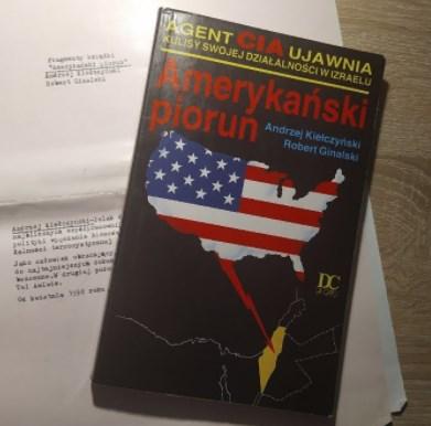 """""""Amerykański piorun. Agent CIA ujawnia kulisy swojej działalności w Izraelu"""" RECENZJA"""