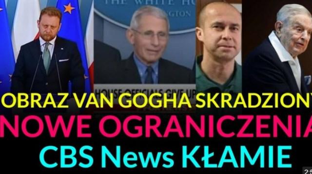 SZYBKI NEWS CBS kłamie, Nowe ograniczenia, Obraz Van Gogha skradziony