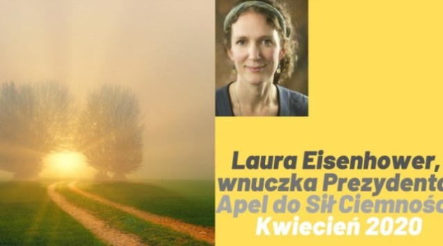 WAZNE – Laura Eisenhower, prawnuczka Prezydenta, z Apelem do Sił Ciemności! Nie Możecie Nas Mieć!