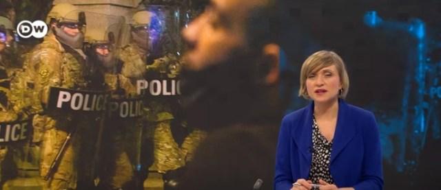 Minneapolis police shoot at, threaten to arrest DW reporter