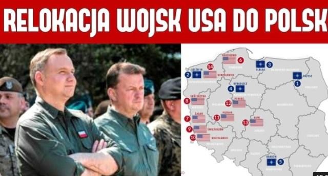 POLSKA przygarnie amerykańskie oddziały z NIEMIEC – Duda i Błaszczak zapłacą z kieszeni podatnika