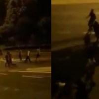 Banda Ukraińców z maczetami napadła grupę mężczyzn w samym centrum Polski [VIDEO] {Autor Gabi}