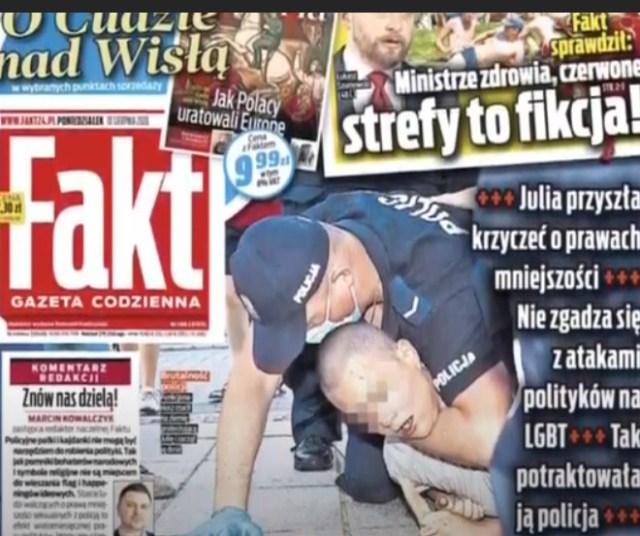 OBNAŻAMY MANIPULACJĘ FAKTU i POSEŁ FILIKS! PODAJ DALEJ! zatrzymanie #lgbt #magdalenafiliks #warszawa