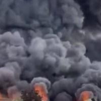 Wybuchy i pożary w wielu państwach {Autor Gabi}