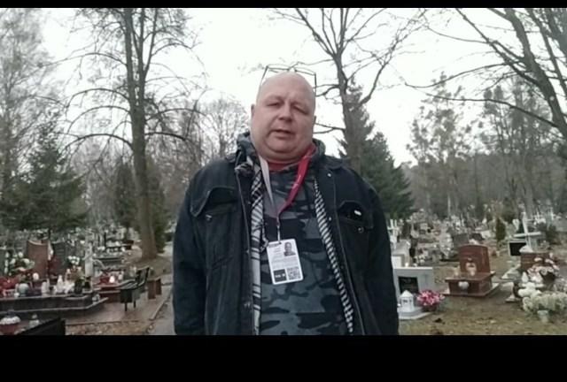 Profanacja grobów dzieci 😡. Wizja lokalna,