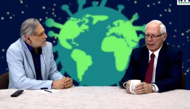 Covid-19 – Dokąd zmierza ludzkość – Jerzy Zięba osobiście w studio NTV