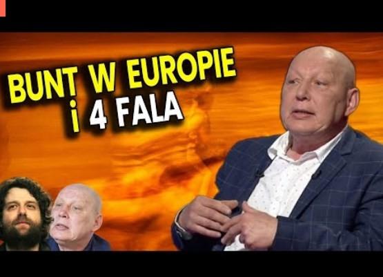 Bunt w Europie (ale nie w Polsce) i 4 Fala Zarazy – Jasnowidz Jackowski i Ator Przepowiednie Analiza