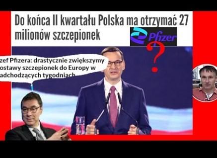 PILNE !! Dr Z.Kękuś PPP 324 oszuści wszechczasów – Pfizer, jego prezes Bourla, Morawiecki i inni